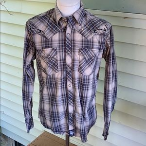 Rock 47 by Wrangler button front shirt.